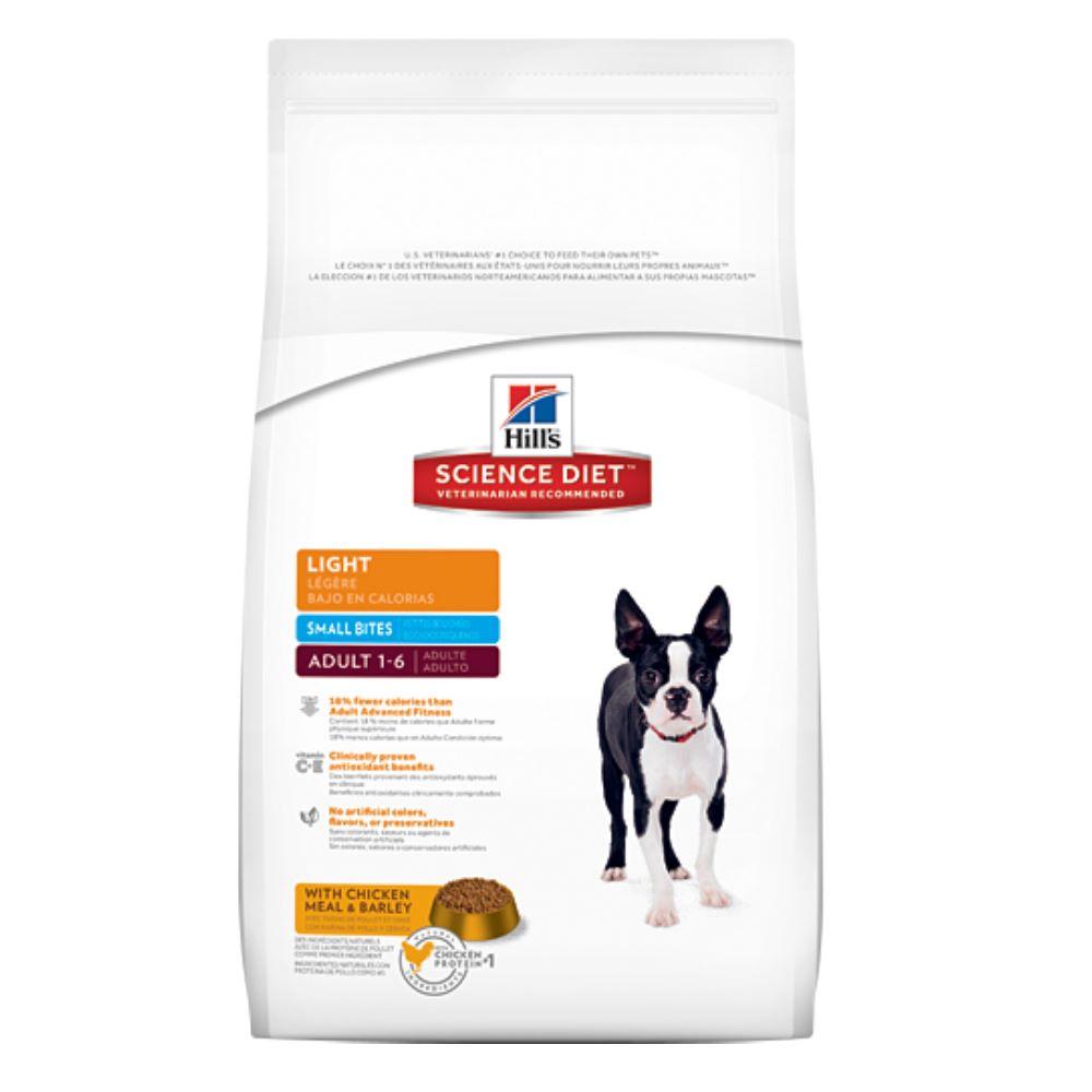 希爾思 成犬體重控制低卡配方(小顆粒) 8kg【10319HG】