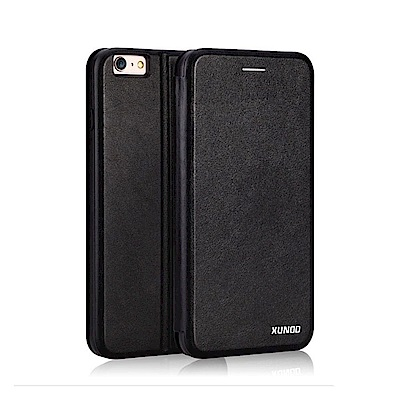 XUNDD for iPhone X 賽納可插卡支架皮套