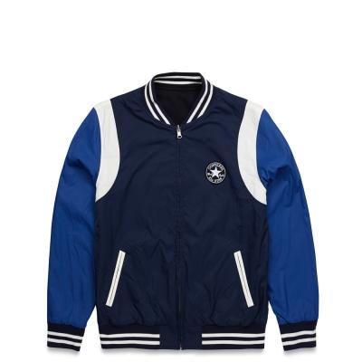 CONVERSE-男運動外套10002861A02-藍