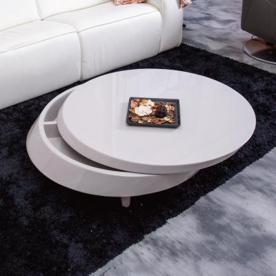 Hilker-漢莎鏡面橢圓茶几-146x95x30cm