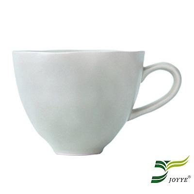JOYYE陶瓷餐具 自然初語手捏杯-綠色