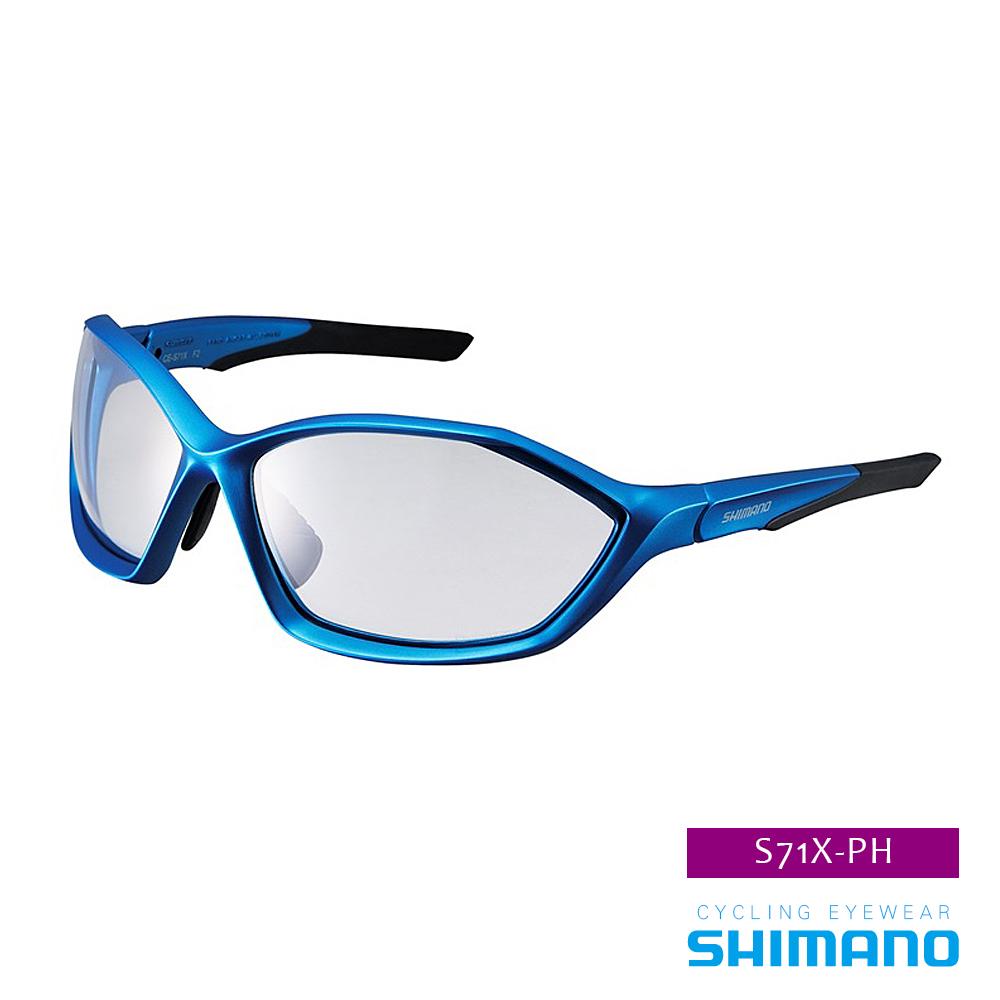 SHIMANO S71X-PH 運動太陽眼鏡 藍黑