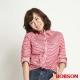BOBSON 女款條紋長袖襯衫(紅條13) product thumbnail 1