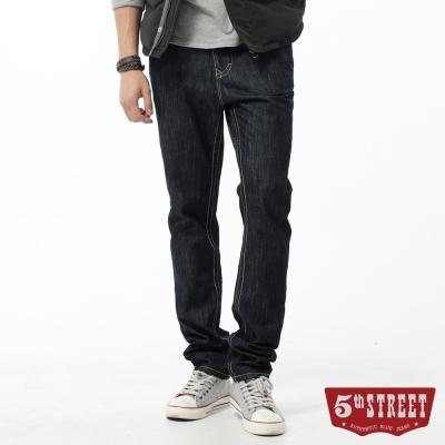 5th STREET 窄直筒 1965輕磅牛仔褲-男-原藍色