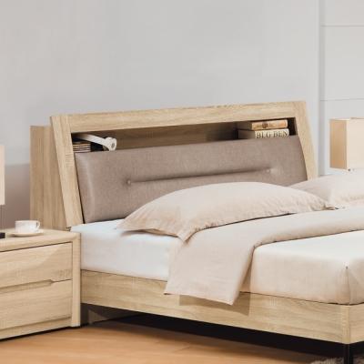 床頭箱 雙人5尺 歐伊希5尺床頭箱 AS