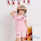 Disney 輕甜米妮休閒上衣+短褲兩入組 粉紅