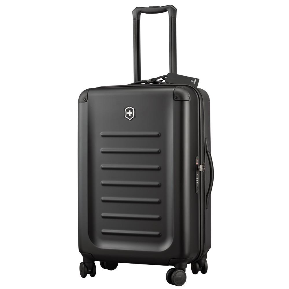 Victorinox Spectra 2.0 輕量級霧面硬殼26吋旅行箱-黑
