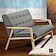 漢妮Hampton文森休閒沙發雙人椅 product thumbnail 1
