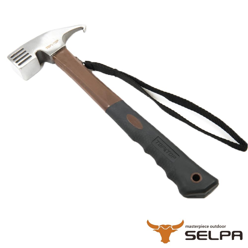 【韓國SELPA】鑄鋼營槌 營釘槌 鋼頭營鎚 槌子 鋼錘(可拔釘)