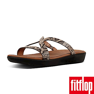 FitFlop STRATA TM SLIDE SANDALS 蛇紋