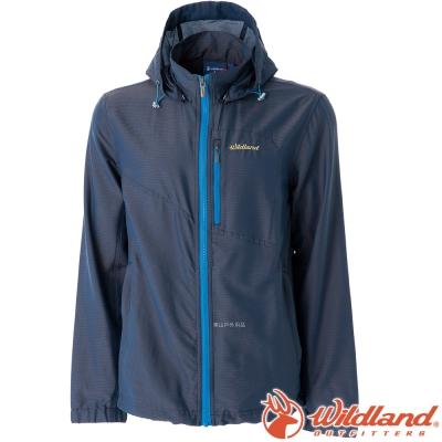 Wildland 荒野 0A51996-93深灰 男 彈性抗UV透氣輕薄外套