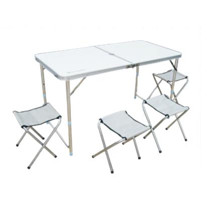 TECHONE 鋁合金桌椅組 (室內外用皆宜)