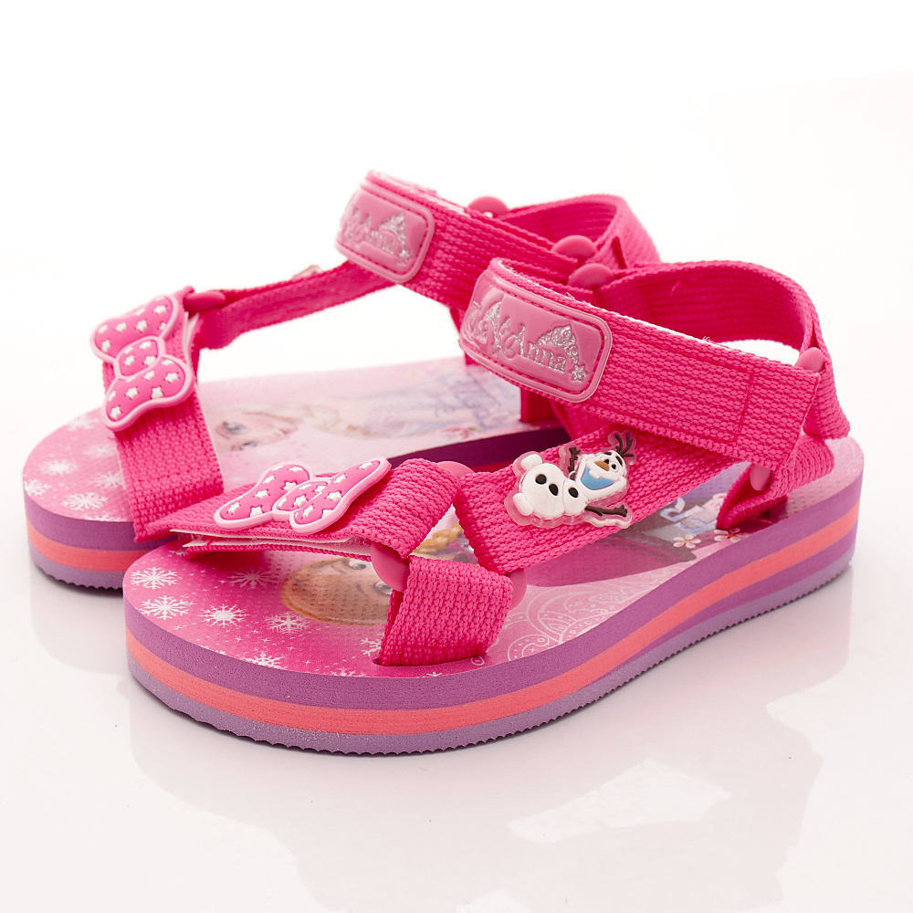 迪士尼童鞋 冰雪奇緣涼鞋款 SE4143 粉紅 (中小童段)T1#16