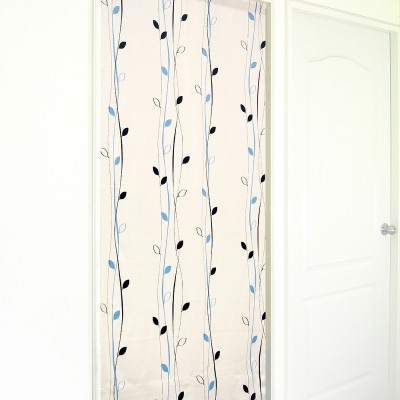 布安於室-藤蔓小葉遮光風水簾-黑藍