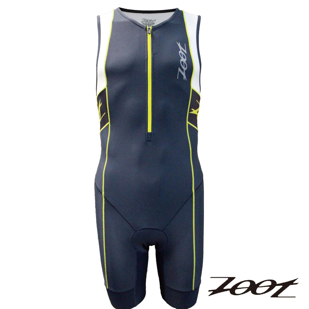 ZOOT專業級肌能連身鐵人衣(男)Z1506032(雅灰尊爵黃白)