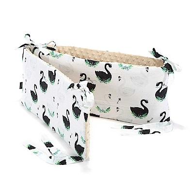 La Millou 拉米洛100%純棉床圍護欄(柴可夫天鵝-焦糖密斯朵)