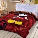 Disney 米奇 加厚法蘭絨暖呼呼造型暖被一入