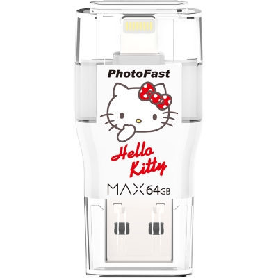 PhotoFast i-FlashDrive HelloKitty MAX 64G 隨身碟