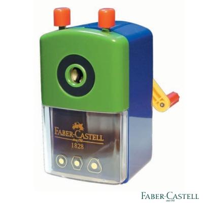 Faber-Castell 紅色系 削鉛筆機(大小通用)