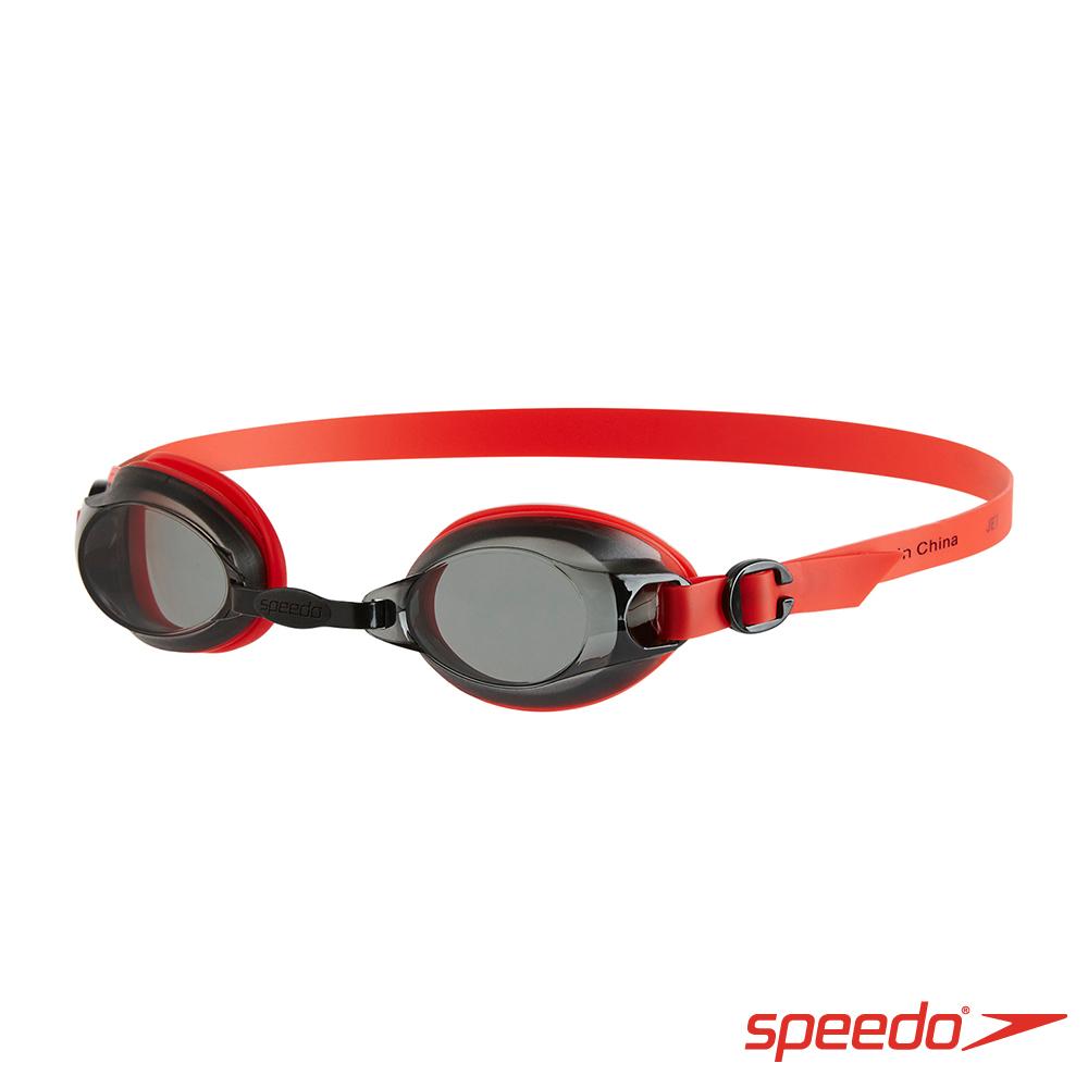 SPEEDO 成人基礎泳鏡 Jet 紅