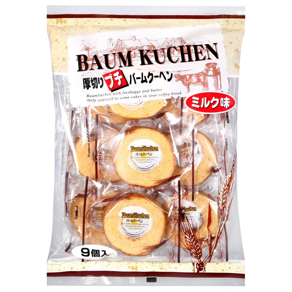 牧原製果 厚切牛奶風味年輪蛋糕 (270g)