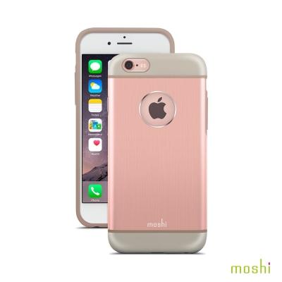 Moshi iGlaze armour iPhone 6/6s 鋁製背殼 (玫瑰粉)
