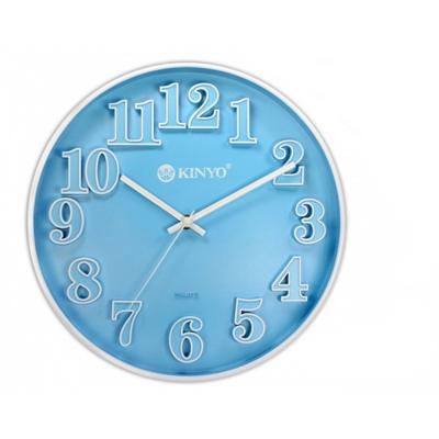 KINYO  12 吋繽紛立體靜音掛鐘(CL 124 )