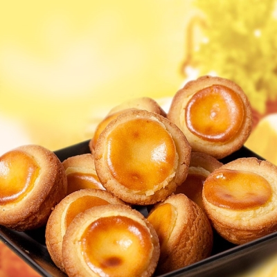 Maruko手工坊 經典手做濃郁乳酪塔球5入組(口味任選)