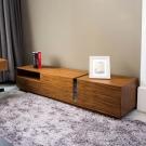 HILKER-托努黑橡木電視櫃-180x40x48cm