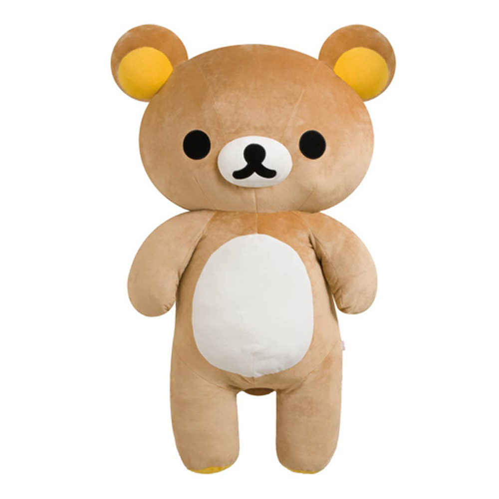 拉拉熊 110cm 站姿毛絨大大公仔 (特大) 。懶熊
