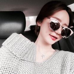 NINE ACCORD太陽眼鏡 韓系潮流/粉紅-水銀粉#CARDINAL-OR C04