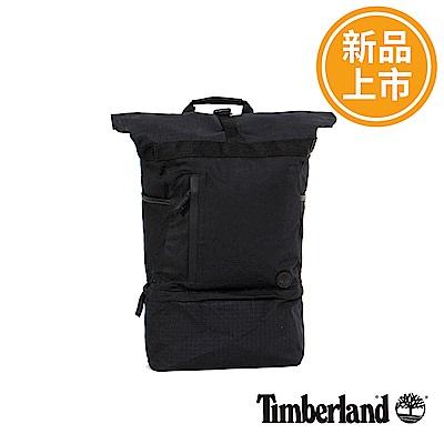 Timberland 黑色RollTop上捲式後背包
