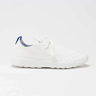 AIRWALK(男)- 簡約百搭輕透氣休閒鞋-白