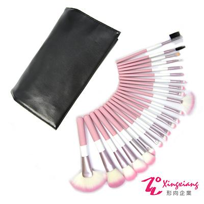 Xingxiang形向 粉紅珍珠 22支套刷組 刷具組(黑色) Q-22-8A