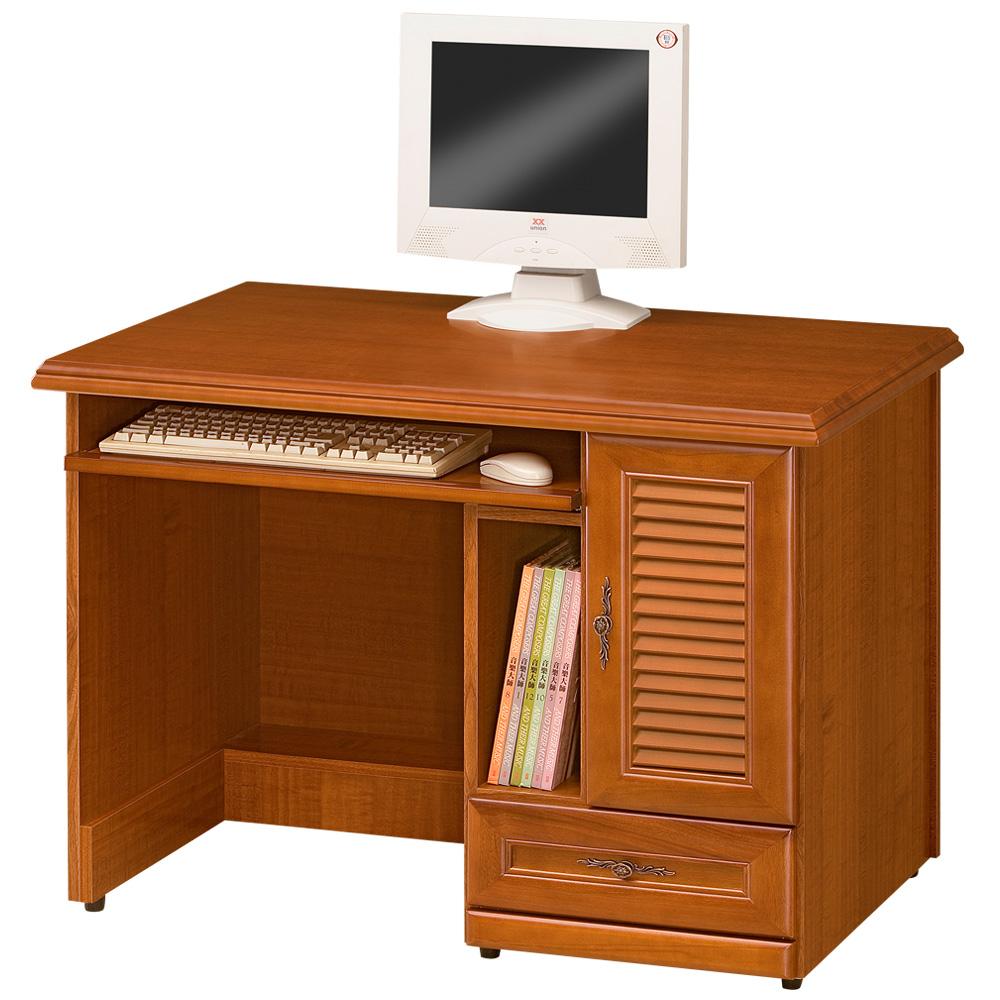《Homelike》樟木3.5尺電腦書桌
