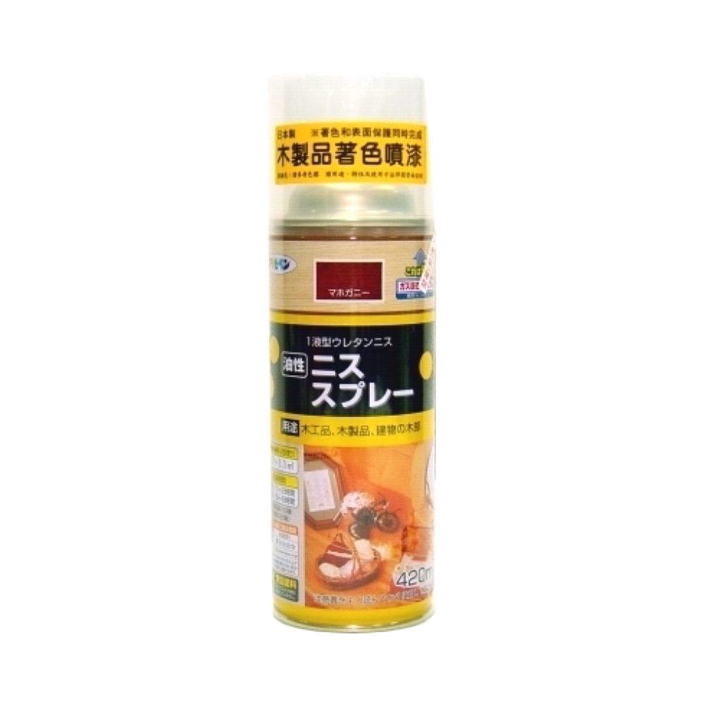 日本製油性木器著色噴漆420ml(8色)