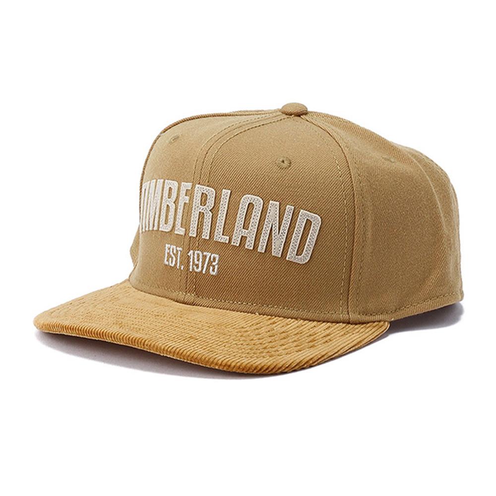 Timberland卡其色品牌1973刺繡棒球帽