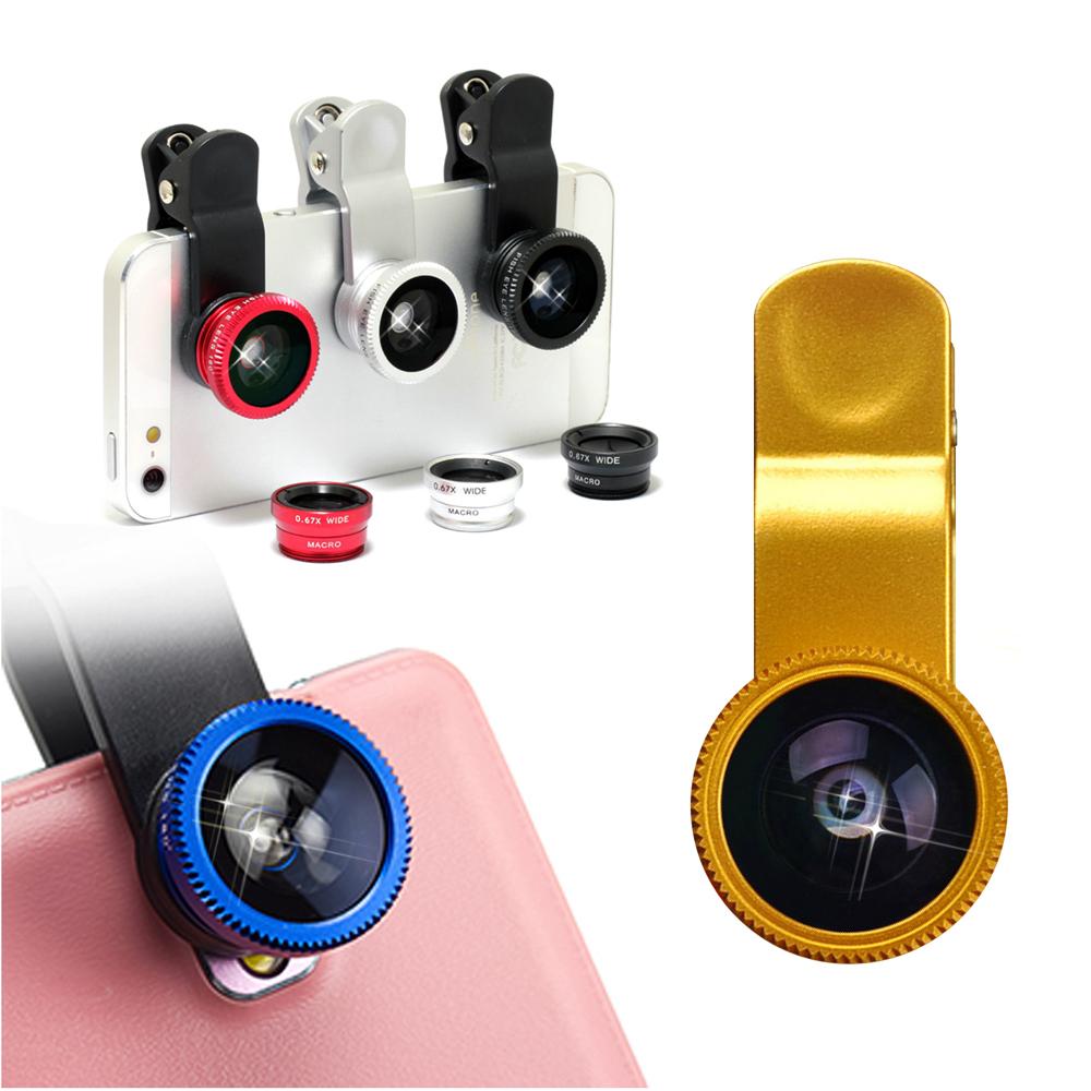 三合一萬能廣角微距魚眼 手機鏡頭夾子iphone5/5S/ HTC/ 三星可用