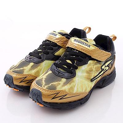 日本月星頂級競速童鞋-閃電BANE系列-6693黃(中大童段)T1