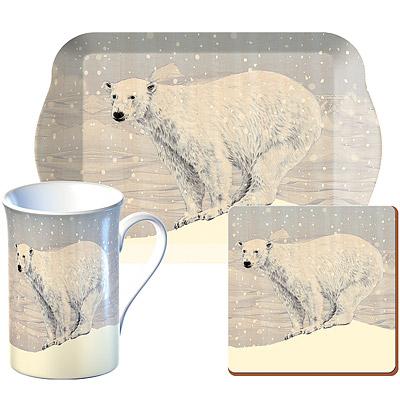《CreativeTops》Snow馬克杯午茶3件組(北極熊350ml)