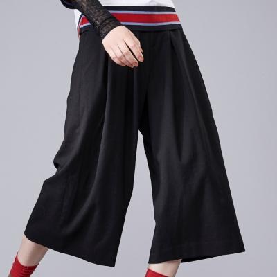 雙側腰環寬褲-everysum