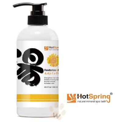 HotSpring 湯-滋養蓬鬆活髮配方600ml 1入