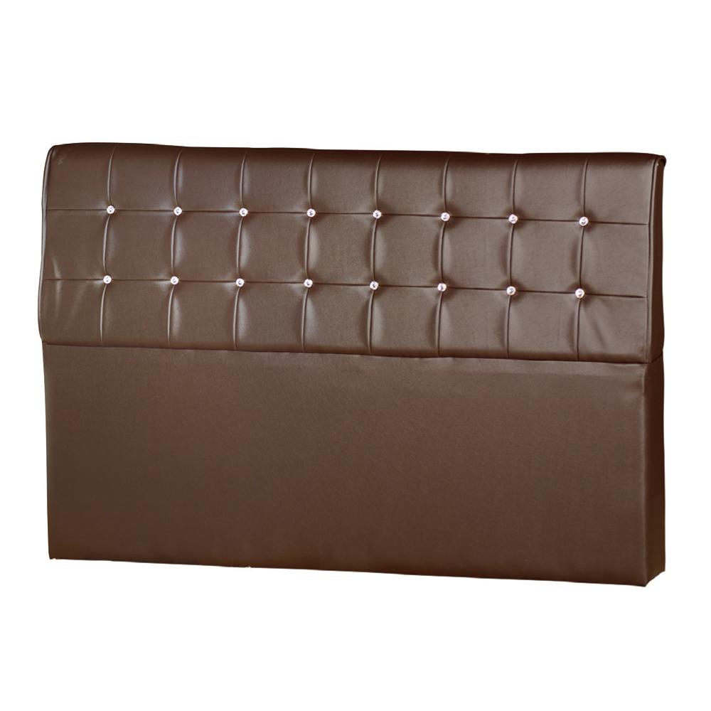 AS-馬特5尺咖啡床頭片-155x15x101cm