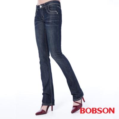 BOBSON 女款輕薄小喇叭褲