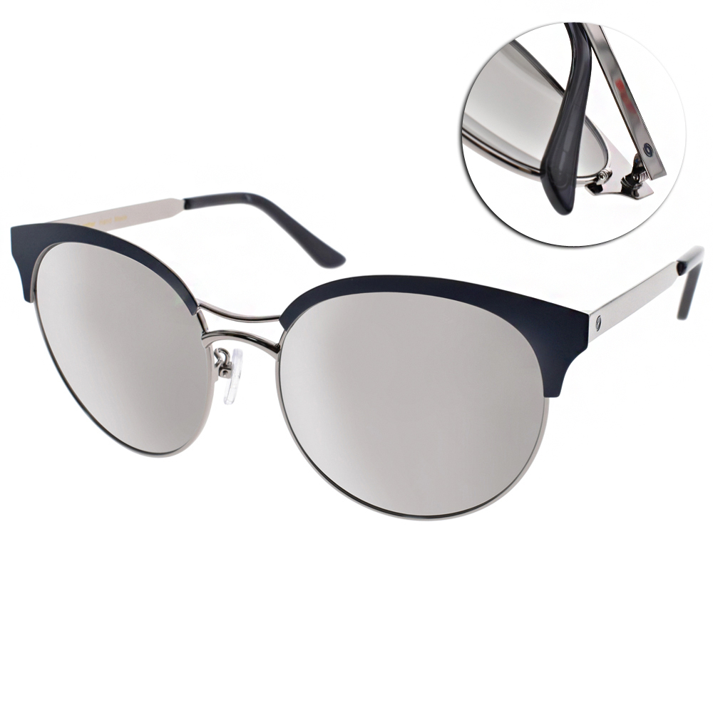 Go-Getter太陽眼鏡 造型貓眼框/藍銀-白水銀#GS1702 SISM