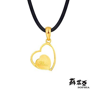 蘇菲亞SOPHIA - G LOVER系列羅曼史之2黃金項鍊