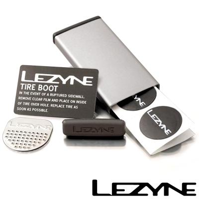LEZYNE METAL KIT彩色鋁盒補胎片組 (銀)