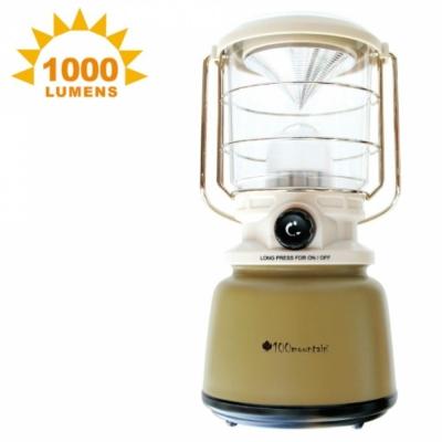100MOUNTAIN LT-1000 LED大型營燈 1000流明