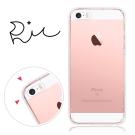 RedMoon APPLE iPhone 5/5s/SE 防摔氣墊透明TPU手機軟殼