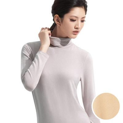 【華歌爾】中空保暖衣M-LL長袖翻領款(柔嫩膚)
